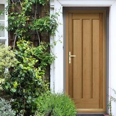 JBK Ullswater External Oak Faced Door. #externaloakdoor #fronoakdoor #oakpaneldoor