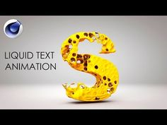 Cinema 4D Tutorial - Create Water Splash - YouTube