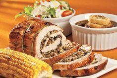 Es momento de ofrecer nuevos rellenos para el lomo de cerdo en nuestra cena navideña, prepara este delicioso relleno de hongos y deleita a tus invitados con su sabor.