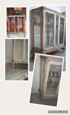 China Cabinet, Shabby Chic, Storage, Furniture, Home Decor, Chic, Homemade Home Decor, Larger, Home Furnishings