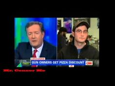 Piers Morgan Wishes Bankruptcy to Virginia Beach Pizzeria Owner Who Gives Gun Owners Discounts