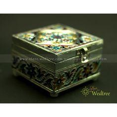 Minakari jewel box
