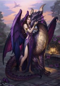 Fantasy Pictures Dark _ Fantasy Pictures - Shounen And Trend Manga Dark Fantasy Art, Fantasy Artwork, Fantasy Art Women, Beautiful Fantasy Art, Fantasy Girl, Fantasy Mermaids, Dragon Artwork, Dragon Drawings, Drawings Of Dragons