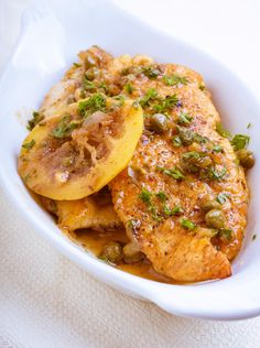 Lemon Chicken Recipe from Chef Robert Irvine's collection of great recipes  #fitcrunchbars #fitcrunch #recipes