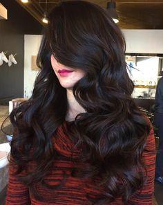 cool Красивый шоколадный цвет волос (50 фото) — Темные и светлые оттенки Читай больше http://avrorra.com/shokoladnyj-cvet-volos-foto-ottenki/