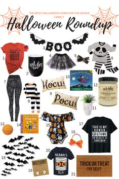 Halloween Roundup: T
