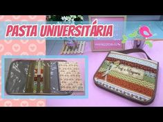 Pasta Universitária Arteyra - Costura Intermediária - YouTube Pattern Making, Storage Organization, Coloring Books, Lunch Box, Patches, Diy Crafts, Quilts, Sewing, Youtube