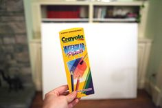 Water color pencils on canvas...so want to try this!!!  From http://www.bowerpowerblog.com