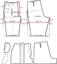 Чтобы уведичить выкройку, нажмите на картинку. Перед тем, как приступить к моделированию выкройки шорт, необходимо.