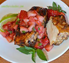 Balsamic Chicken & Strawberry Relish