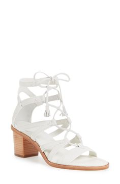Obsessing over these white hot sandals from Frye. Dressed up or dressed down, these are perfect for the sunny months!