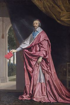 Cardinal de Richelieu | beautiful drapery and color