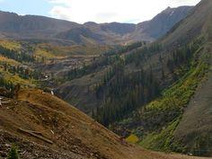 Imogene Pass trail run