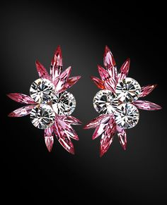 Zdenka Akro Rhinestone earring UH04006-131 - Rhinestone Jewelry | Dancesport Fashion @ DanceShopper.com