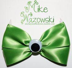 Mike Wazowski Hair Bow