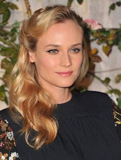 Pretty Hair Idea of the Day: Diane Kruger's Sides-Back Hairstyle