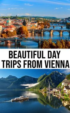 Vienna is close to many beautiful cities along with a large countryside. We have selected our favorite 6 day trips from Vienna, Austria. European Travel Tips, Europe Travel Guide, European Destination, Travel Guides, Travel Hacks, Europe Packing, Backpacking Europe, Packing Lists, Travel Packing