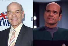 The Cast of Star Trek Then & Now - Emergency Medical Hologram – Robert Picardo ;-)~❤~