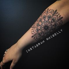 Mandala tattoo by Migelly Shaw Sacred Rose Tattoo Brisbane Australia #dotwork #mandala