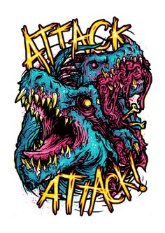 Attack Attack! (merch design)