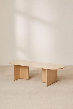 Shop Mura Bench at Urban Outfitters today. We carry all the latest styles, colors and brands for you to choose from right here. Furniture Projects, Furniture Decor, Furniture Design, Recycling Furniture, Furniture Repair, Woodworking Furniture Plans, Diy Holz, Into The Woods, Decoration