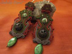 Ozdoby Ziemi - earrings MOAI STONE