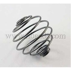 Iron Spiral Bead Cages, Black, Round<p>about 21mm long, 20mm wide, hole: 4mm.<br/>Priced per 20 pcs