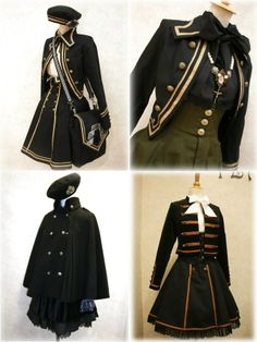 Lolita, uniform, japan style, fashion