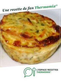 Flans de légumes express par Marie Peyrin. Une recette de fan à retrouver dans la catégorie Entrées sur www.espace-recettes.fr, de Thermomix®.
