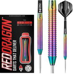 20g, 22g, 24g oder 26g Steeldarts Steel Darts, Tungsten Darts, Dart Set, Red Dragon, Stems, Gaming, Gift, Oder, Drift Wood