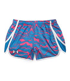Under Armour Girls Escape Printed Shorts