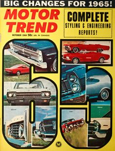 Covered: Ford Mustang Motor Trend Covers from 1964-Present Photo Gallery