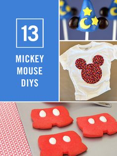 Mickey Mouse will forever capture the hearts of children of all ages. Celebrate the legendary, lovable mouse with these fun DIY Mickey crafts and recipes.