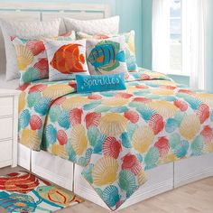 Captiva Island Quilt and Accessories from C & F
