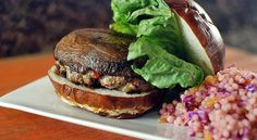 Grilled Pork-Stuffed Portabella Mushroom | Taste for Adventure - Unusual, Unique & Downright Awesome Recipes