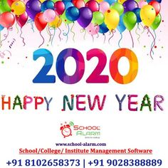 Happy Year, School Fun, Software, Management, Happy New Year