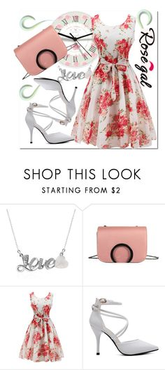 """Time#is#up"" by bamra ❤ liked on Polyvore featuring vintage"