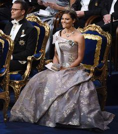 Crown Princess Victoria and Prince Daniel at the Nobel Prize Award in Stockholm 10.12.2016