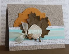Stampin' Up! Fall  by Just Julie B's Stampin' Space