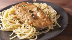 Garlicky Chicken Piccata