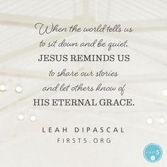 #First5 @First5App @LeahDiPascal  Lord, thank You for opportunities to speak Your Word in love!