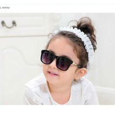 039df604c8e Kids Fashion Summer Sunglasses Girl With Sunglasses