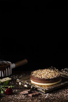 Tarta tres chocolates de Nestlé