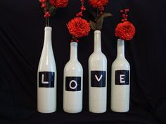 finally something to do with all the empty wine bottles at home :)