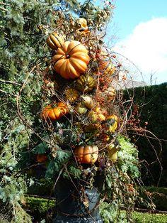 Romancing the Home: Pumpkin Urn