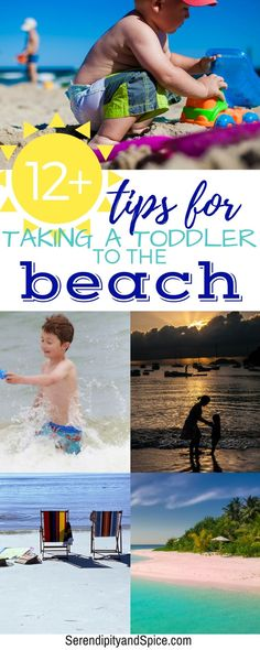 Taking a Toddler to the Beach - Tips, Tricks, and Hacks for a fun family vacation at the beach!  #beach #travel #familytravel #familyvacation #vacation #vacationtips #traveling #toddlers #trip #summer #summervacation #family #parenting #kids #vacationfun