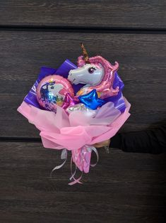 Valentines Balloons, Mini Balloons, Hand Bouquet, Balloon Bouquet, Balloon Decorations, Holidays And Events, Party Themes, Unicorn, Graduation