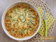 Zucchini clafoutis with mozzarella Feta, Vegan Junk Food, Vegan Sushi, Cheeseburger Soup, Sicilian Recipes, Sicilian Food, Weird Food, Healthy Dinner Recipes, Healthy Food