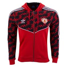 Manchester United Originals Full Zip Jacket  | $89.99 | Holiday Gift & Stocking Stuffer ideas for the Manchester United FC fan at WorldSoccerShop.com