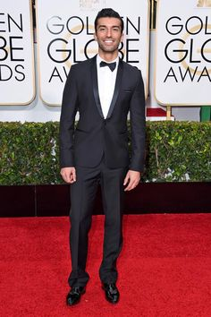 Golden Globes 2015 Red Carpet Arrivals | Justin Baldoni ('Jane the Virgin')